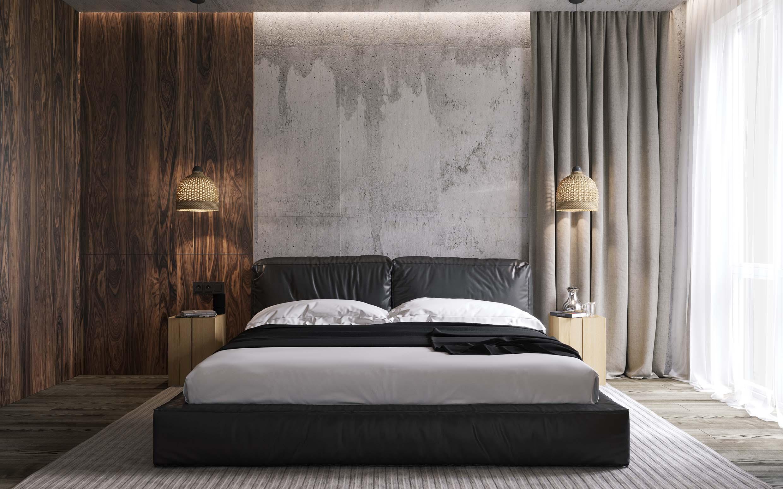 design interior dormitor stil contemporan