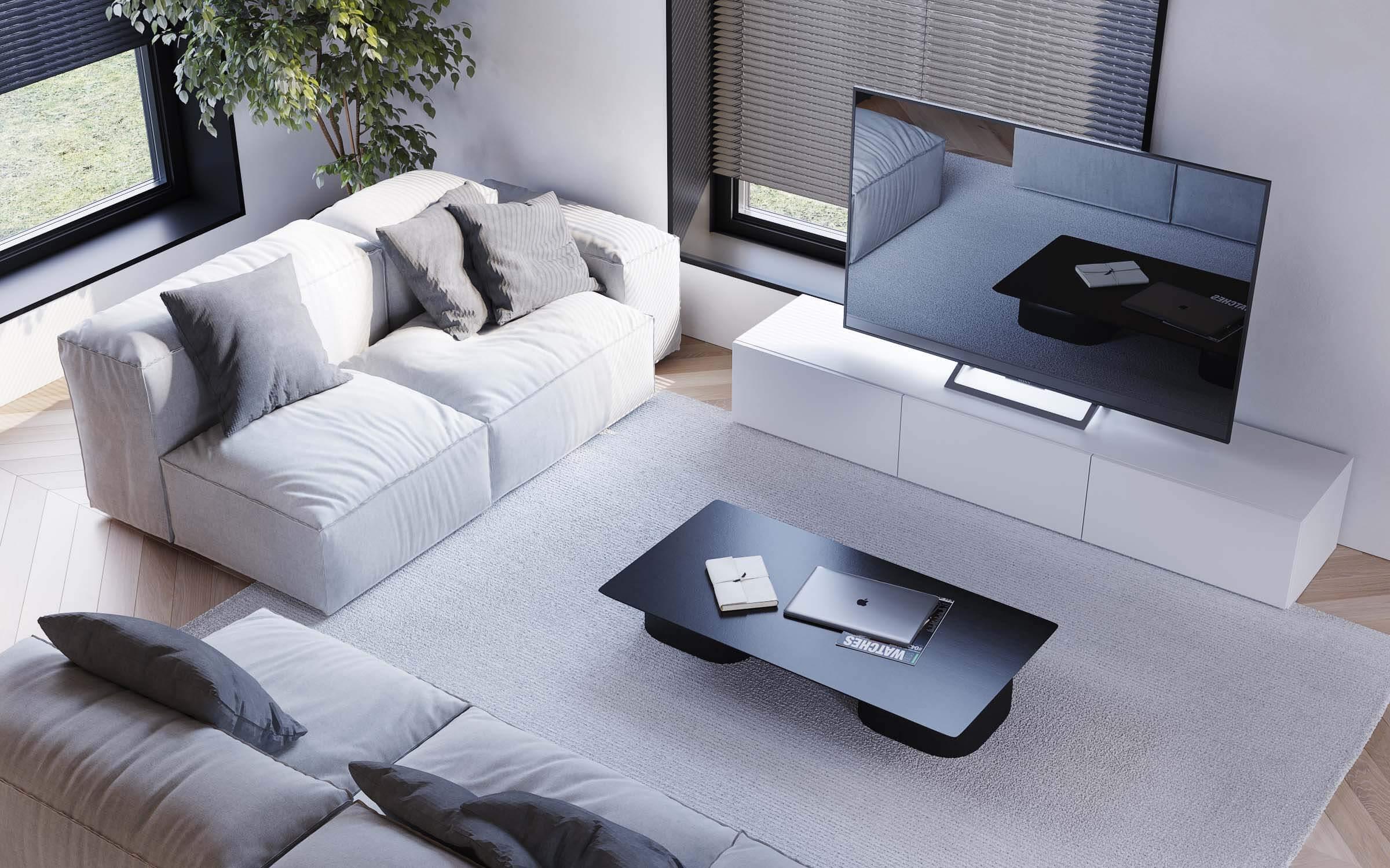 living spatios cu design minimalist