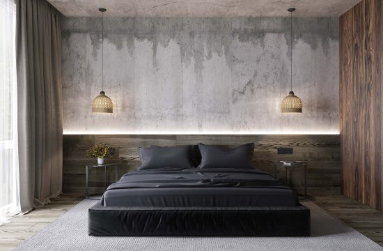 design interior dormitor in stil minimalist