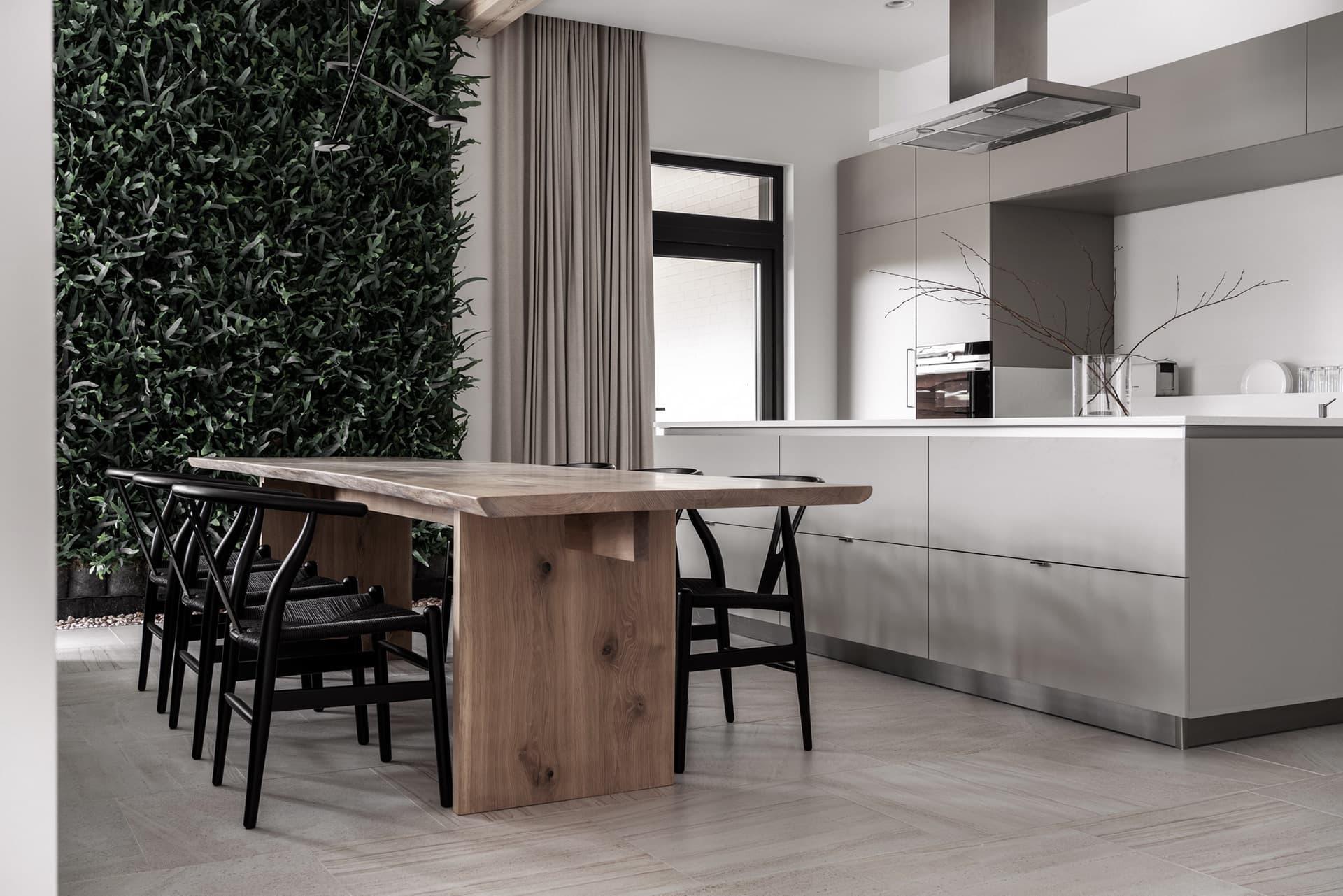 kitchen in minimalist interior style