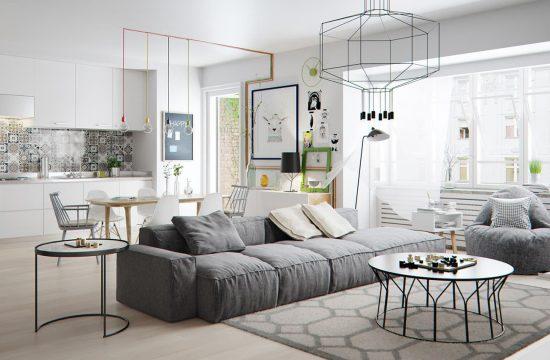 Amenajarea interior living room chisinau
